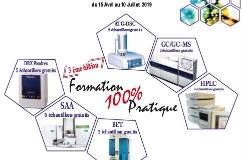 CRAPC-LCSCO 100% pratical training | University of Tlemcen